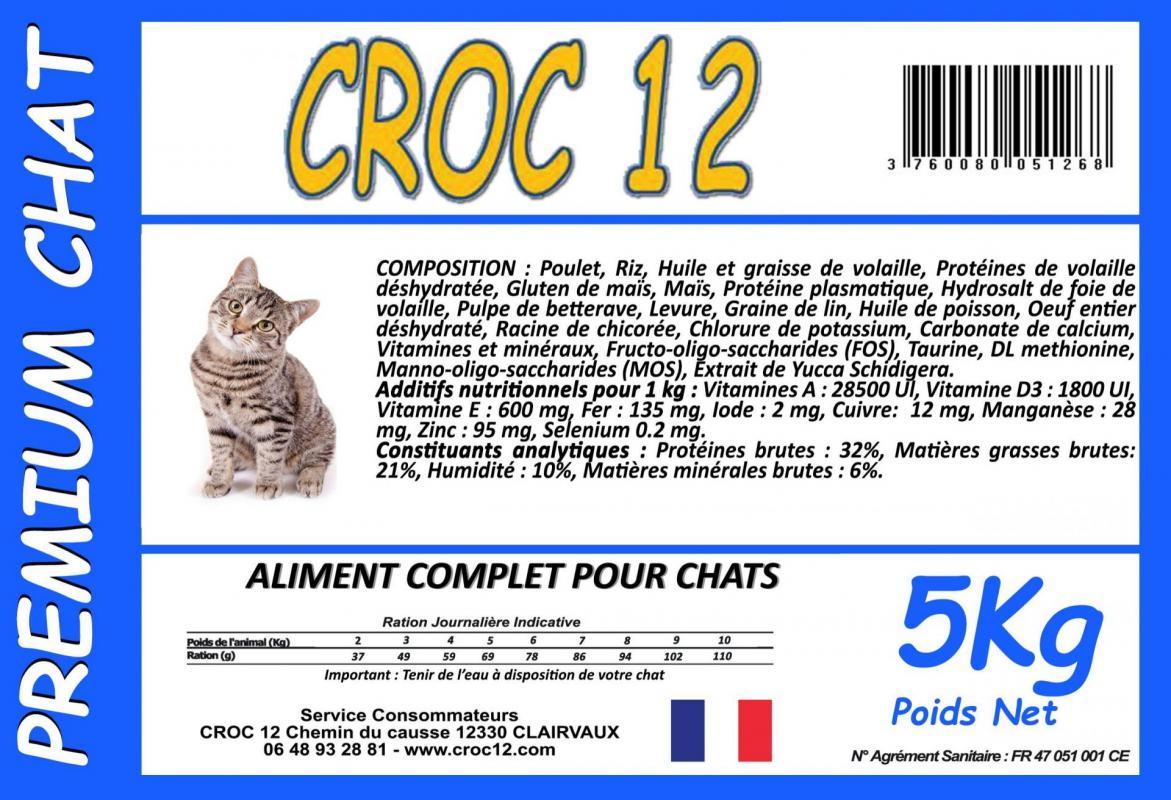 Croc 12 Premium Chat