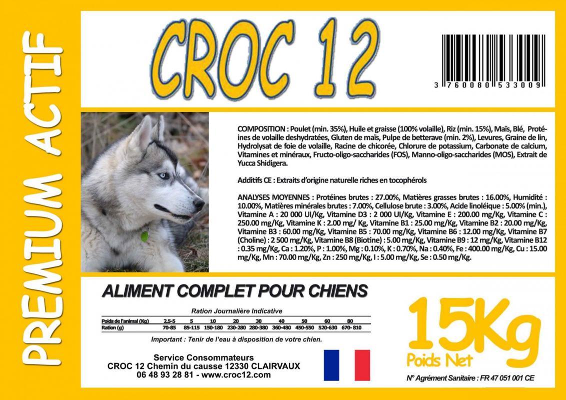 Croc 12 Premium Actif
